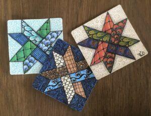 Woven Star Pattern - tangle Inspiration